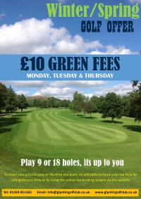 Sizzling Summer Golf Offer